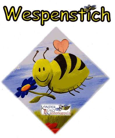 Wespenstich: Powertail-Geocaching