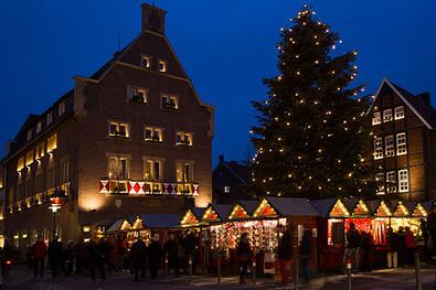 Weihnachtsmarkt - Kiepenkerl